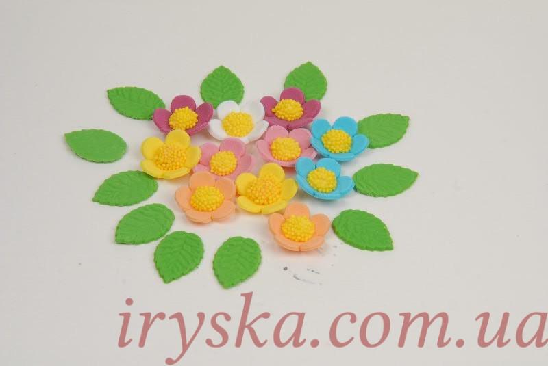 Головна квіти з мастики веснянка